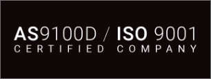AS 9100 D ISO 900 1 Certified Company